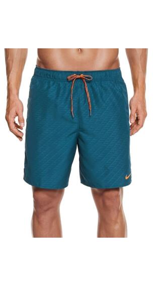"Nike Swim Core Emboss - 7"" - Maillot de bain - bleu"